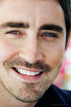 """Lee Pace could just not get anymore...hmmm...mmm."" <-- teehee. ;) I wish my teeth were as nice as his. They're okay and straight, but look how darn white his are! #Jealous lol."