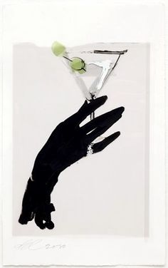 David Downton - Absolut Downton 7 One of eight Absolut Downton works made for Absolut Vodka's insert in Acne Paper Magazine, 10th Issue, Summer 2010.