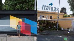 Roma cancellato il murale di Derek Bruno a Ostiense #lavoratori #salari #tasse #roma #stipendo #INPS