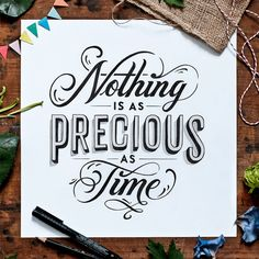 The beautiful hand-lettering work of Tobias Saul | Inspiration Grid | Design Inspiration