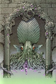 Cthulhu, by Philippe Caza
