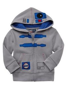 Baby Gap Junk Food™ Star Wars™ R2-D2 hoodie...The solution to frequent complaints from Daddy about how much I spend on baby clothes: pick out a few items he can't resist now and then ;)