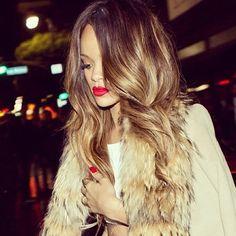 Rihanna's Gorgeous Long Hair.