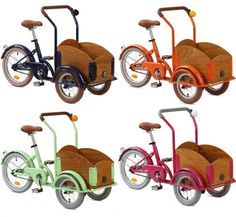 republic 3 wheel bikes with wagon for kids