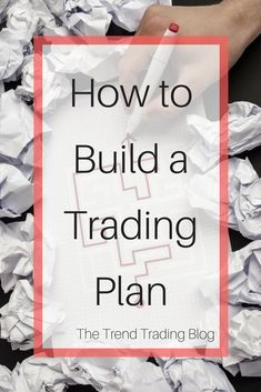In this article, learn how to build a trading plan. I explain what a trading plan is, why every trader should have one and some things to consider for what it should contain. Follow The Trend Trading Blog for more trend trading content.