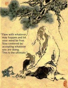 Taoist sage and Frog