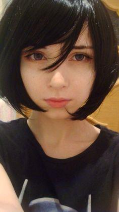 ロシア人美女が日本の美容院で黒髪にした結果www (画像あり)