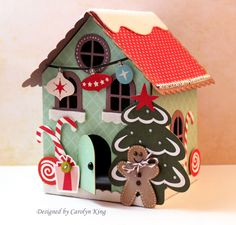 Can't wait to make a few of these! ck-Gingerbread-house-1