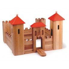Drewart Toys Wooden Castle - nicnacnoo.com