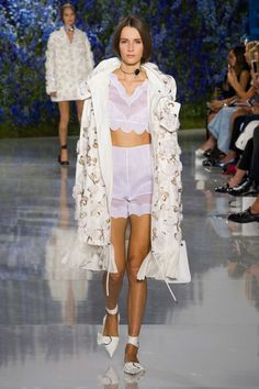 From retro silhouettes, to Spanish ruffles and pajamas as daywear, see the 9 trends that define the season here: Christian Dior