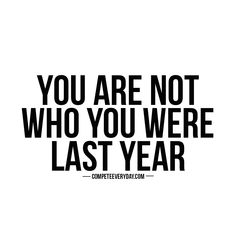 You're a new person. Keep competing and don't get stuck in the past
