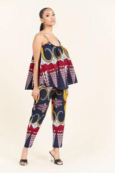 African Wear Dresses, Latest African Fashion Dresses, African Attire, African Print Pants, African Print Clothing, Modern African Print Dresses, African Inspired Fashion, African Print Fashion, African Women Fashion