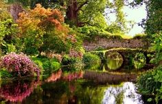 www.lecamerepinte.it  Ninfa Gardens...one of the most beautiful gardens I have ever seen.The Garden of Ninfa is open to the public on a limited number of scheduled days. In order to preserve its delicate environmental balance, all tours are guided.