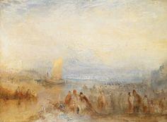 Margate Harbour, 1845. Joseph Mallord William Turner