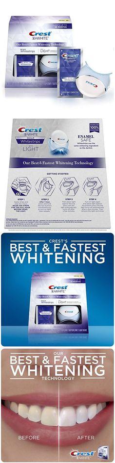 Whitening: Crest 3D White Whitestrips With Light, 10 Ct. Teeth Whitening Kit BUY IT NOW ONLY: $84.99 http://reviewscircle.com/Teeth-Whitening-4-You?i=kit