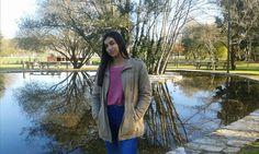 Look para o dia a dia: parka, sweat rosa e jeans  #ootd #fashion #style #look #outfit #fashionblogger #outfitpost