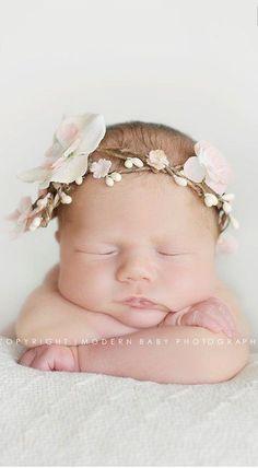floral headband <3