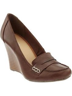 Women's Loafer Wedges   Old Navy