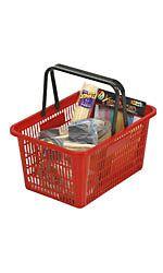 Shopping Basket - Red - 26106