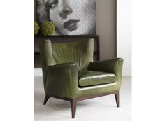 Oh! This Chair is better! So beautiful and you can customize the colors... but I'm a bit in love with this green!