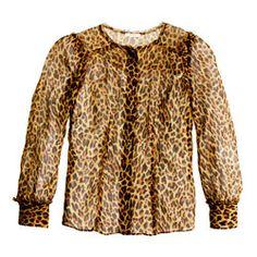 Collection leopard blouse