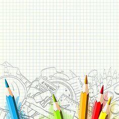 ดินสอสี ดินสอ การเขียนใช้ วาด พื้นหลัง