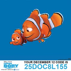 Finding nemo disney movie pixar wall vinyl sticker vinyl adhesive decal for kids Orange Wallpaper, Colorful Wallpaper, Hd Wallpaper, Disney Movie Rewards Codes, Dory Characters, 25 Days Of Christmas, Christmas Wishes, Finding Dory, Disney Movies