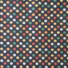 C0072 - bolões coloridos, fundo preto.