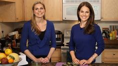 Vegan Brownies With Spinach: Nutritionist Cynthia Sass shows us how easy it is to add healthy greens to brownies, and you cant even taste the spinach.