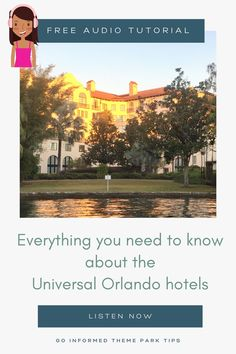 Did you know there are six different on-site hotels at Universal Orlando? Find out how to choose your perfect Universal Orlando resort in this in-depth discussion from GoInformed.net/56 Universal Orlando Hotels, Universal Studios, Hershey Park, Orlando Theme Parks, Ways To Save Money, Saving Money, Need To Know, Adventure, How To Plan
