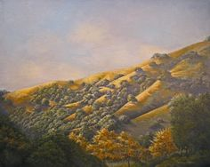 """Niles Canyon II"" original acrylic by Thomas Cory"
