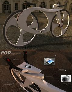 """i Bike"" Concept design by Reindy Allendra."
