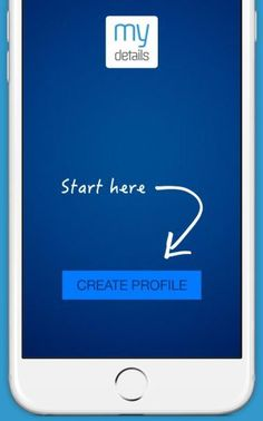 MyDetails app offers simple ways to create your business cards