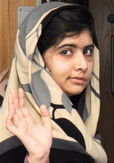 Malala, teen champion of girls' rights, nominated for Nobel Peace Prize (Photo: NHS via EPA)