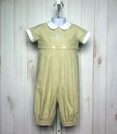 Benjamin Romper. Just look at all the different fabrics! Adorable!