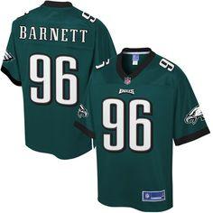 Derek Barnett Philadelphia Eagles NFL Pro Line Youth Player Jersey - Midnight Green