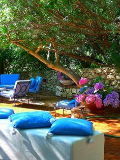 Su Gologone Hotel in Sardinia, Italy.