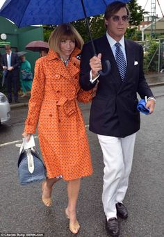 Anna Wintour and Shelby Bryan (7.2012)