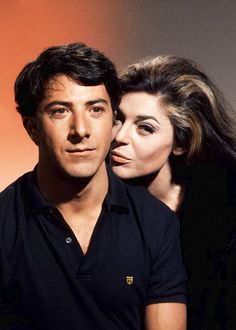Mr. Dustin Hoffman and Ms. Anne Bancroft in a production photograph from Mike Nichols iconic 1967 film The Graduate.