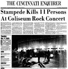 december 3 1979 concert | shock of The Who concert tragedy concert produced the start of concert ...