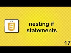 JavaScript - nested if statements - - is the programming language of HTML and the Web. Programming makes computers do what you want them to do. JavaScript is easy to learn. This tutori...
