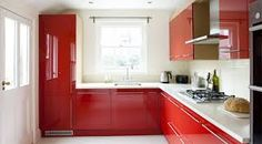 Image result for bright kitchens