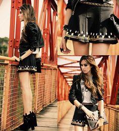 Labellamafia Skirt, Romwe T Shirt, Iclothing Clutch