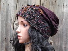 WOMEN Ladies Slouchy Hat Spring Summer Fashion Mom Beanie Hat