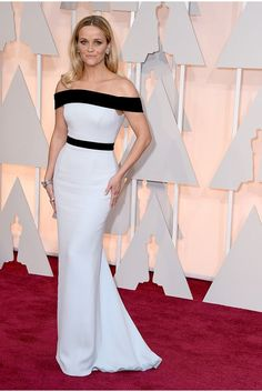 Oscars 2015 Red Carpet Dresses: Reese Witherspoon in Tom Ford