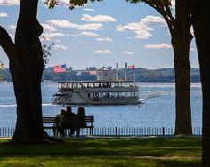 Lady of the Lake on Lake Geneva WI by LakeGenevaLandscapes on Etsy