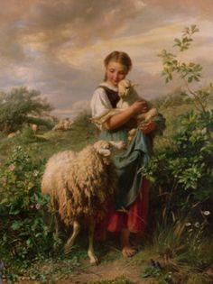 Shepardess, 1866, John Baptistery Hofner