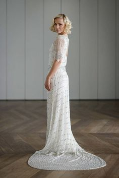 Art Deco Glitter: Vicky Rowe Wedding Dresses