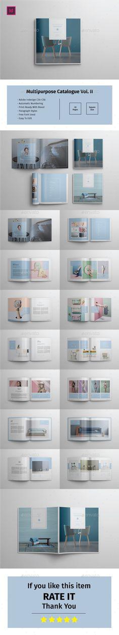 Multipurpose Square Catalogue Vol.II