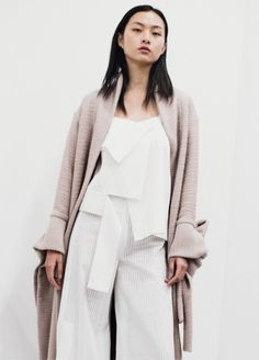 Claudia Li Fall/Winter 2016 (you look older, I can tell by your hands.)
